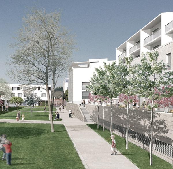 Atelier moss gimmig zac quartier de l 39 ovalie montpellier for Architecte paysagiste montpellier