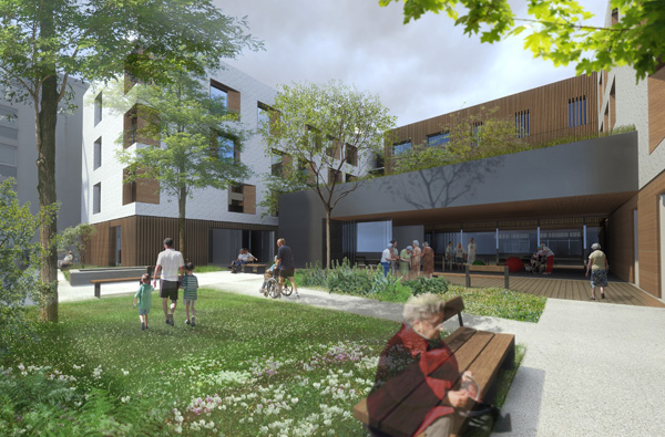 Atelier moss gimmig hopital ehpad montmorency for Le jardin montmorency